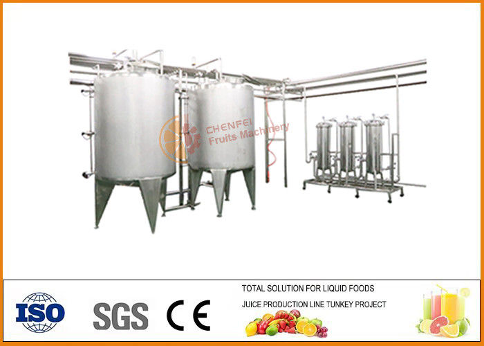 Automatic Bayberry Fruit Wine Production Line 3000T / Year Complete