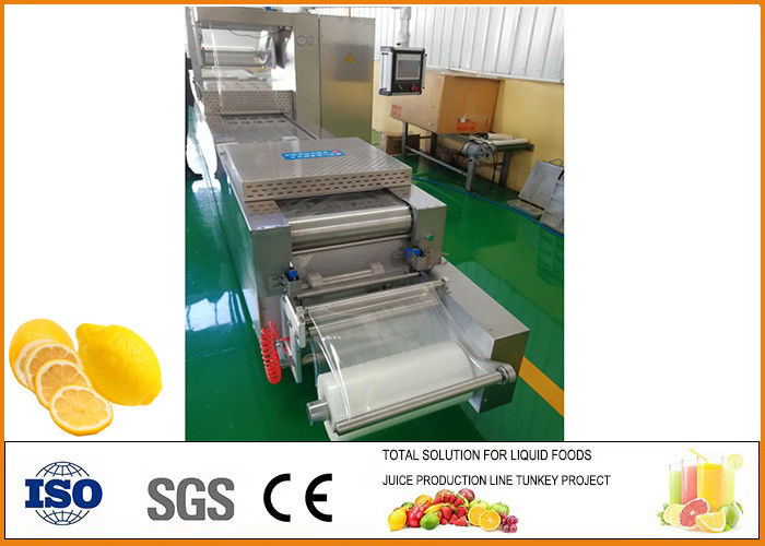 Freeze-drying Lemon Processing Machinery Silver Color CFM-FD-200