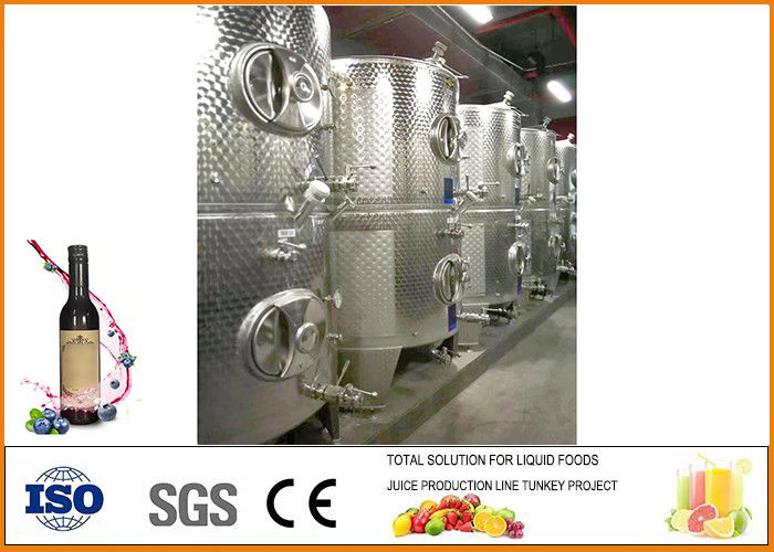 Complete Blueberry Wine Production Line Anti Oxidation Easy Operation