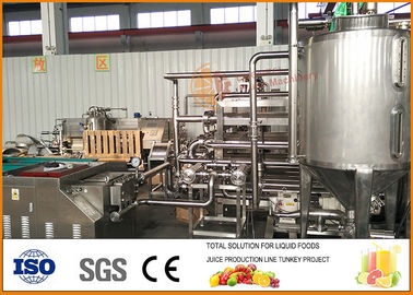 Chiny Red Bayberry Fruit Juice Processing Line 15 ~ 20 Brix Solid Content fabryka